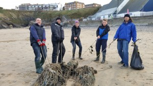 10th jan beach clean